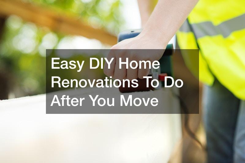 Easy DIY Home Renovations